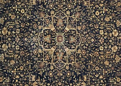 Antiqued Indo Agra | Agra 8′ x 10′