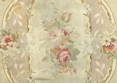 Antique Aubusson | Aubusson 4′ x 7′