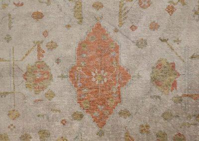 Antiqued Angora Oushak | Oushak 8′ x 10′