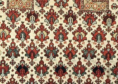 Turkish Shirvan Prayer | Shirvan 4′ x 5′