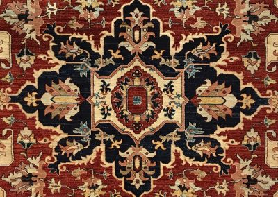 Afghan Serapi | Heriz 8′ x 10′