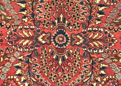 Antique Sarouk | Sarouk 4′ x 6′