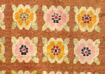 Western Chinese | Floral 4′ x 6′
